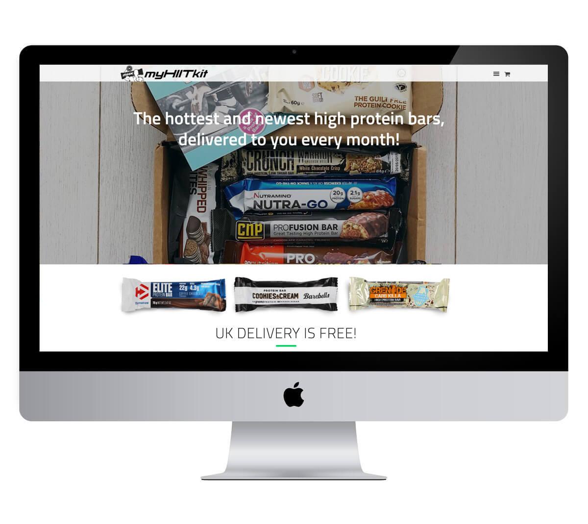 MyHiitKit Website