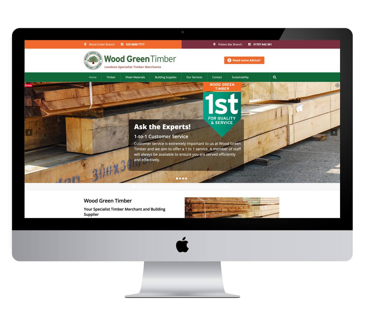 Woodgreen Timber Website
