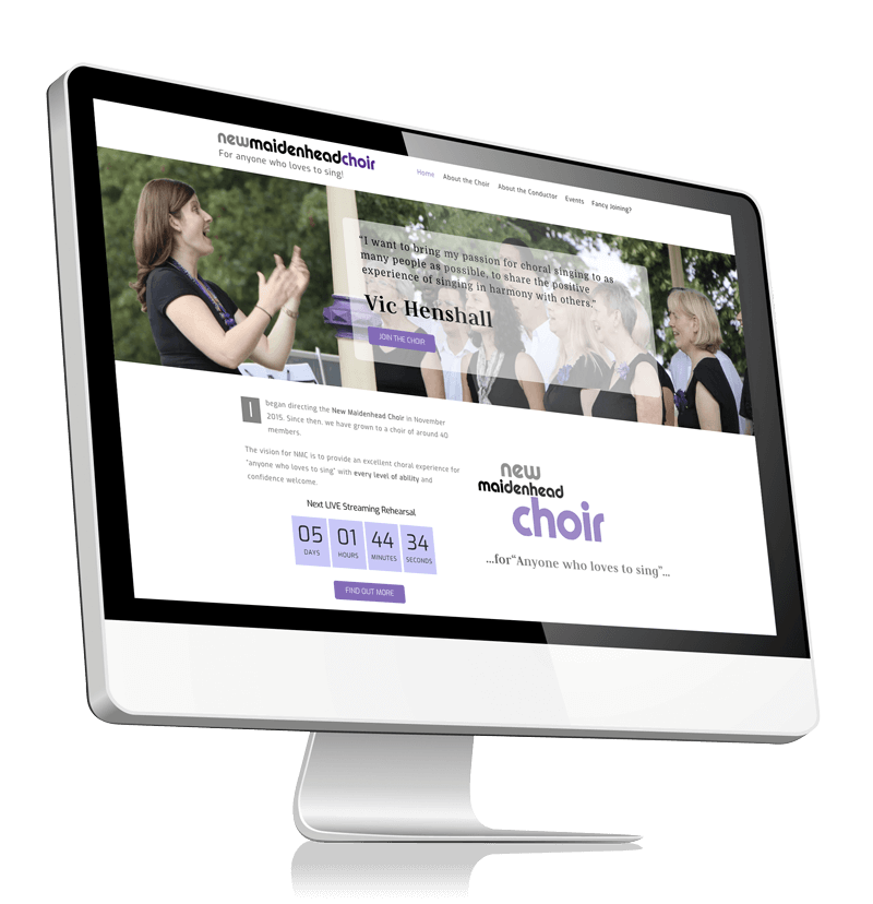 New Maidenhead Choir Website