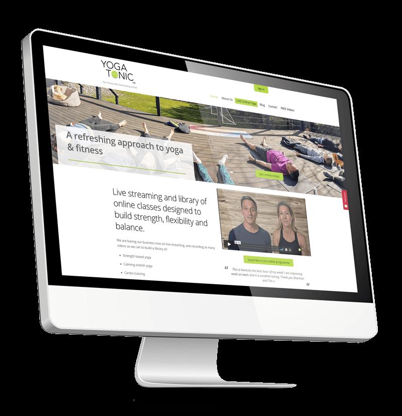YogaTonic Website